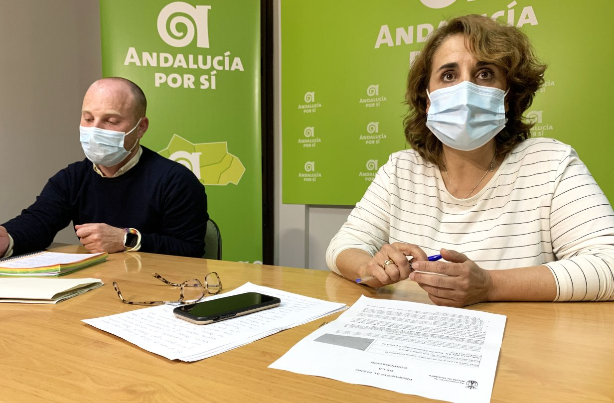 Lola Aquino y Manuel Romero en el Centro Andaluz